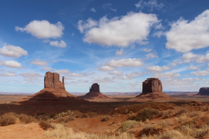 Monument Valley is part of the Navajo Nation reservation, which is the biggest reservation in the United States.